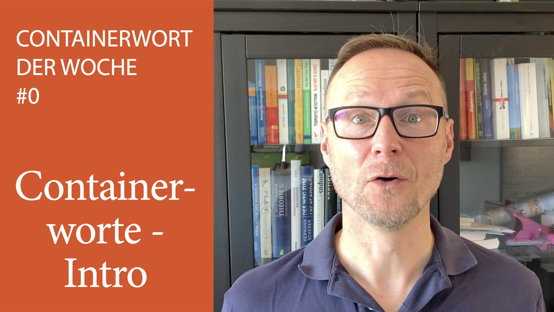 Containerwort Der Woche - Intro